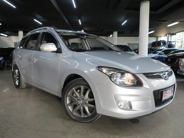 Used Hyundai i30 FD MY11 SLX cw Wagon Albion, 2011 Hyundai i30 FD MY11 SLX cw Wagon Silver 4 Speed Automatic Wagon