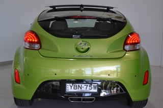 2014 Hyundai Veloster FS3 + Coupe D-CT Green 6 Speed Sports Automatic Dual Clutch Hatchback.