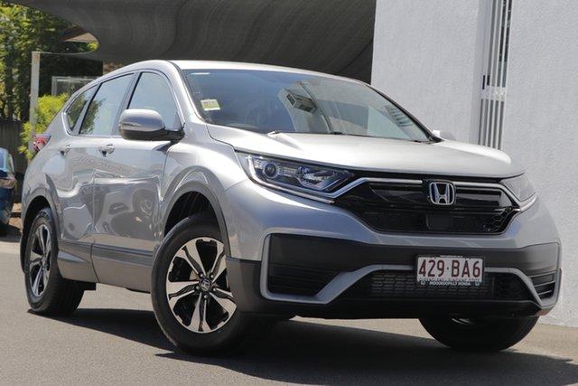 Demo Honda CR-V RW MY21 VTi FWD Indooroopilly, 2020 Honda CR-V RW MY21 VTi FWD Lunar Silver 1 Speed Constant Variable Wagon
