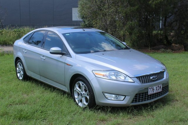 Used Ford Mondeo MA Zetec Ormeau, 2008 Ford Mondeo MA Zetec Silver 6 Speed Sports Automatic Hatchback