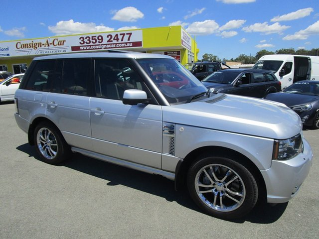 Used Land Rover Range Rover Vogue L322 12MY TDV8 Autobiography Kedron, 2012 Land Rover Range Rover Vogue L322 12MY TDV8 Autobiography Silver 8 Speed Sports Automatic Wagon