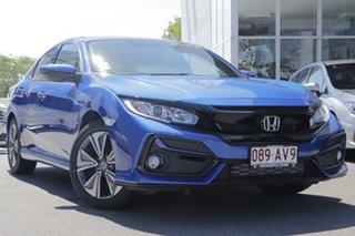 2020 Honda Civic MY20 VTi-L Blue 1 Speed Automatic Hatchback.