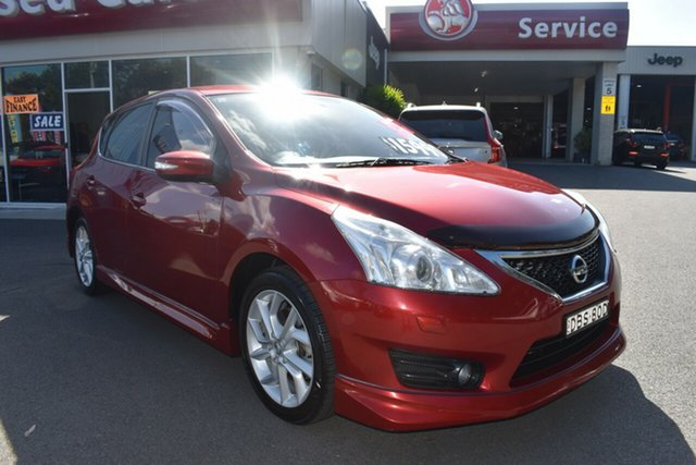 Used Nissan Pulsar C12 Series 2 SSS Gosford, 2015 Nissan Pulsar C12 Series 2 SSS Red 1 Speed Constant Variable Hatchback