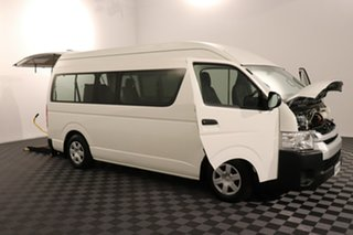 2016 Toyota HiAce TRH223R Commuter High Roof Super LWB French Vanilla 6 speed Automatic Bus