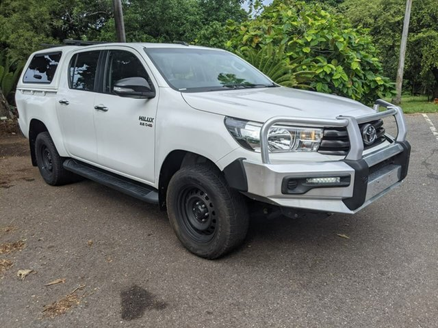 Used Toyota Hilux GUN126R SR Double Cab Stuart Park, 2015 Toyota Hilux GUN126R SR Double Cab White 6 Speed Sports Automatic Utility