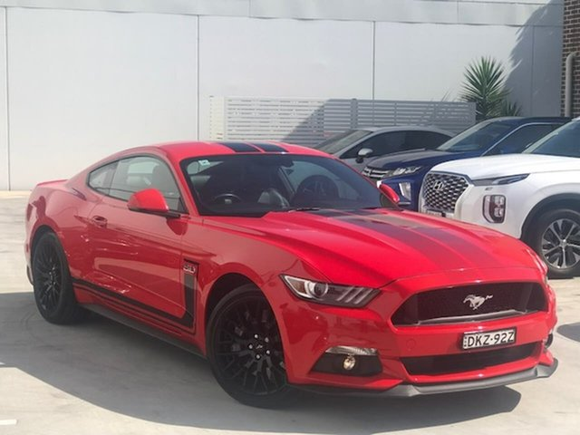 Used Ford Mustang FM GT Fastback Liverpool, 2016 Ford Mustang FM GT Fastback Red 6 Speed Manual Fastback