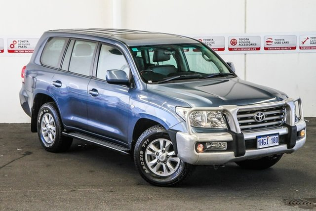 Pre-Owned Toyota Landcruiser VDJ200R Sahara Rockingham, 2007 Toyota Landcruiser VDJ200R Sahara Greyish Blue 6 Speed Sports Automatic Wagon