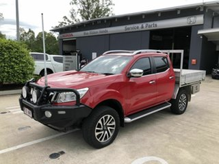 2016 Nissan Navara D23 ST-X Red 7 Speed Sports Automatic Utility