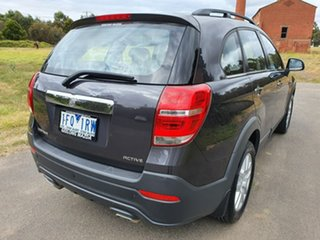 2015 Holden Captiva CG 7 Active Grey Sports Automatic Wagon