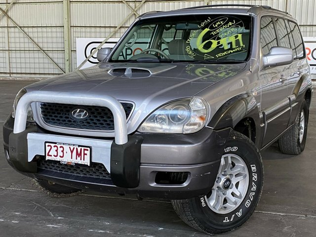 Used Hyundai Terracan HP MY06 Rocklea, 2006 Hyundai Terracan HP MY06 Silver 5 Speed Manual Wagon