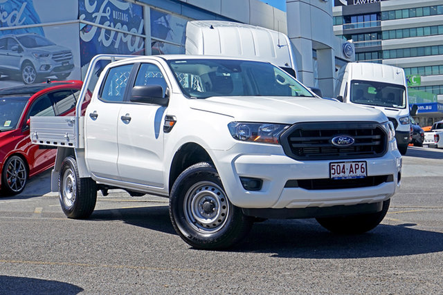 Used Ford Ranger PX MkIII 2020.75MY XL Hi-Rider Springwood, 2020 Ford Ranger PX MkIII 2020.75MY XL Hi-Rider White 6 Speed Sports Automatic Double Cab Chassis