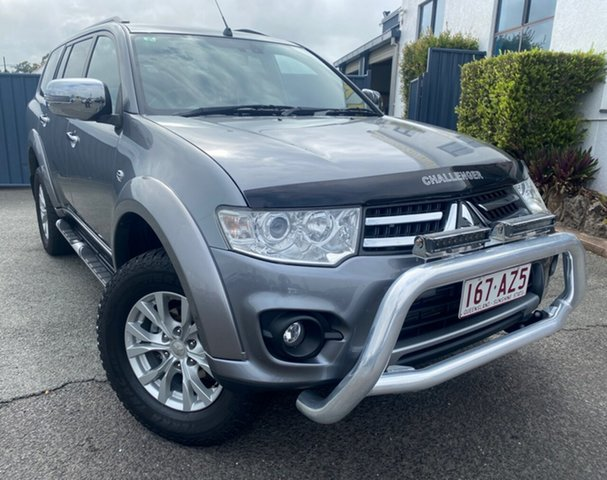 Used Mitsubishi Challenger PC (KH) MY14 LS Slacks Creek, 2015 Mitsubishi Challenger PC (KH) MY14 LS Grey 5 Speed Sports Automatic Wagon