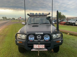 2009 Nissan Patrol GU 6 MY08 ST Grey 4 Speed Automatic Wagon.