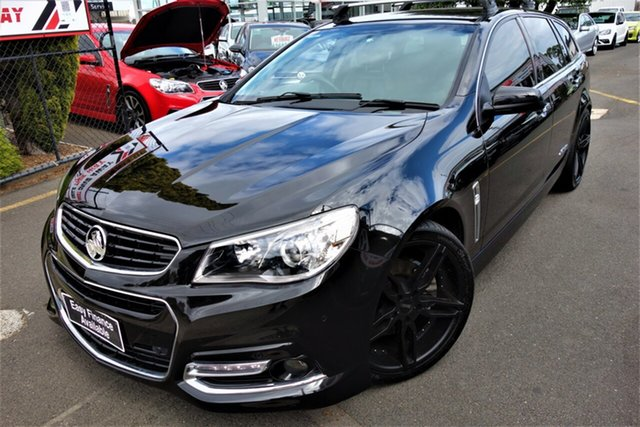 Used Holden Commodore VF MY14 SS V Sportwagon Seaford, 2013 Holden Commodore VF MY14 SS V Sportwagon Black 6 Speed Sports Automatic Wagon