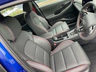 2020 Hyundai i30 PD.V4 MY21 N Line D-CT Premium Intense Blue 7 Speed Sports Automatic Dual Clutch