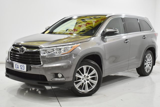 Used Toyota Kluger GSU55R Grande AWD Brooklyn, 2014 Toyota Kluger GSU55R Grande AWD Grey 6 Speed Sports Automatic Wagon