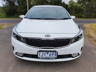 2017 Kia Cerato YD S White Sports Automatic Hatchback