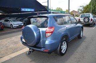 2012 Toyota RAV4 ACA38R CV (2WD) Blue 5 Speed Manual Wagon.