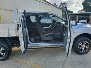 2012 Mazda BT-50 UP0YF1 XT Freestyle 4x2 Hi-Rider Silver 6 Speed Manual Cab Chassis