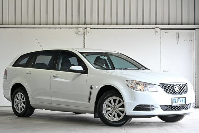 Used Holden Commodore VF MY14 Evoke Sportwagon Laverton North, 2014 Holden Commodore VF MY14 Evoke Sportwagon White 6 Speed Sports Automatic Wagon