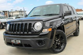 2014 Jeep Patriot MK MY14 Blackhawk CVT Auto Stick 4x2 Black 6 Speed Constant Variable Wagon.