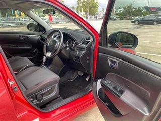 2013 Suzuki Swift FZ Sport Red 7 Speed CVT Auto Sequential Hatchback