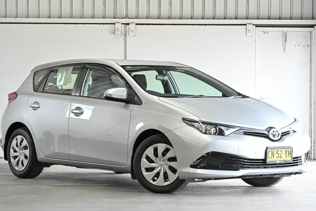 Used Toyota Corolla ZRE182R Ascent S-CVT Laverton North, 2017 Toyota Corolla ZRE182R Ascent S-CVT Silver 7 Speed Constant Variable Hatchback