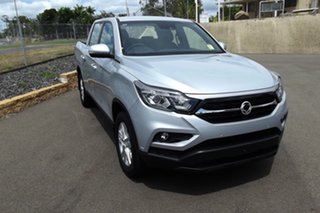 2020 Ssangyong Musso Q200 MY20.5 ELX Crew Cab Silver 6 Speed Sports Automatic Utility.
