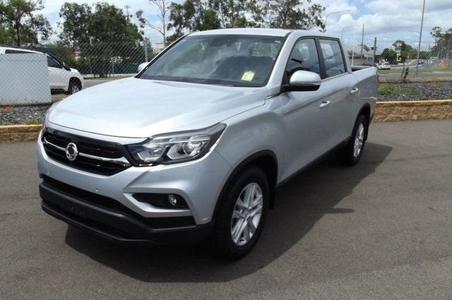 New Ssangyong Musso Q200 MY20.5 ELX Crew Cab South Gladstone, 2020 Ssangyong Musso Q200 MY20.5 ELX Crew Cab Silver 6 Speed Sports Automatic Utility