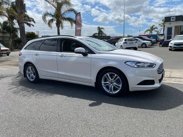 Used Ford Mondeo MD Ambiente Cheltenham, 2017 Ford Mondeo MD Ambiente White Sports Automatic Dual Clutch Wagon