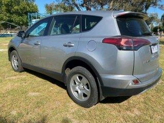 2018 Toyota RAV4 RAV 4 GX AWD 2.5L Petrol Automatic 5 Door Wagon Silver Automatic Wagon