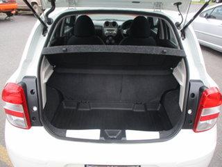 2012 Nissan Micra K13 Upgrade ST-L White 4 Speed Automatic Hatchback