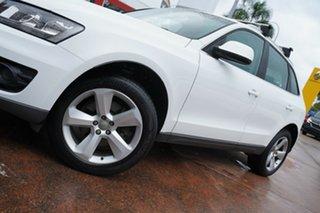 2011 Audi Q5 8R MY12 3.0 TDI Quattro White 7 Speed Auto Dual Clutch Wagon.