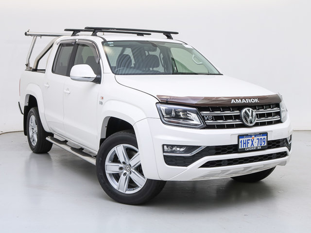 Used Volkswagen Amarok 2H MY19 V6 TDI 550 Highline, 2019 Volkswagen Amarok 2H MY19 V6 TDI 550 Highline White 8 Speed Automatic Dual Cab Utility