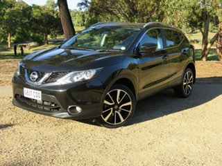 2017 Nissan Qashqai J11 TI Black 1 Speed Constant Variable Wagon.
