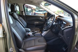 2014 Ford Kuga TF Trend PwrShift AWD Green 6 Speed Sports Automatic Dual Clutch Wagon.