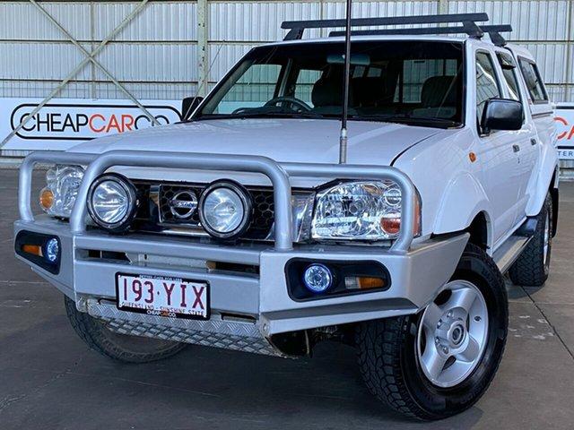Used Nissan Navara D22 MY2003 ST-R Rocklea, 2003 Nissan Navara D22 MY2003 ST-R White 5 Speed Manual Utility