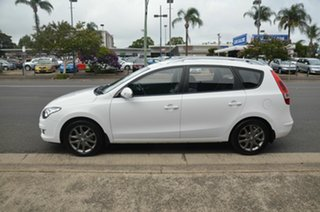 2012 Hyundai i30 FD MY12 CW SLX 1.6 CRDi White 4 Speed Automatic Wagon