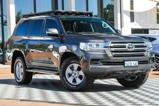 2016 Toyota Landcruiser VDJ200R GXL Grey 6 Speed Sports Automatic Wagon