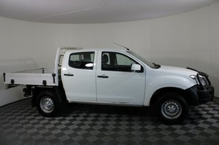 2015 Isuzu D-MAX MY15 SX Crew Cab White 5 Speed Manual Utility.