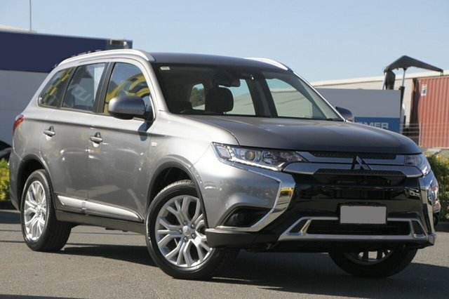 Used Mitsubishi Outlander ZL MY20 ES 2WD Rocklea, 2019 Mitsubishi Outlander ZL MY20 ES 2WD Titanium 6 Speed Constant Variable Wagon