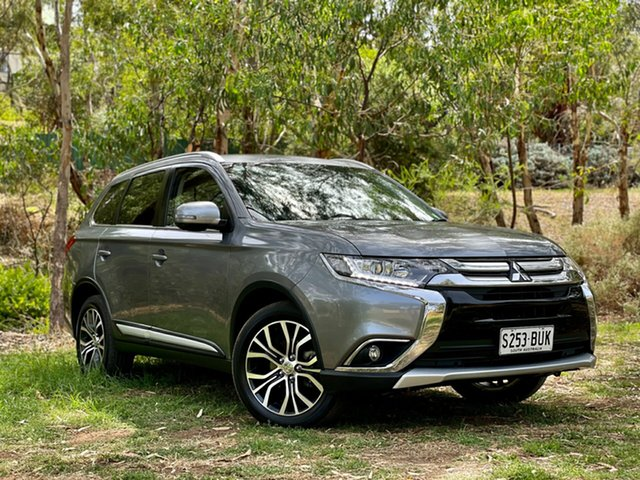 Used Mitsubishi Outlander ZL MY18.5 ES 2WD Reynella, 2017 Mitsubishi Outlander ZL MY18.5 ES 2WD Grey 6 Speed Constant Variable Wagon