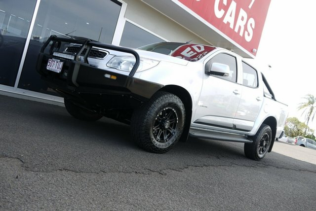 Used Holden Colorado RG MY14 LX Crew Cab Bundaberg, 2013 Holden Colorado RG MY14 LX Crew Cab Silver 6 Speed Sports Automatic Utility