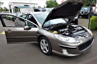 2005 Peugeot 407 ST Touring Comfort Brown 4 Speed Sports Automatic Wagon