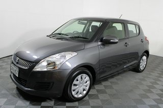2012 Suzuki Swift FZ GL Mineral Grey 5 Speed Manual Hatchback.