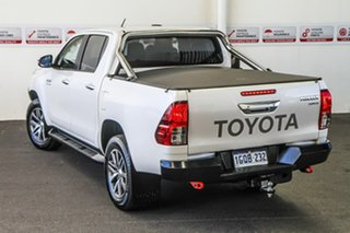 2018 Toyota Hilux GUN126R MY19 SR5+ (4x4) Crystal Pearl 6 Speed Automatic Double Cab Pick Up.