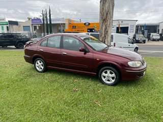 2002 Nissan Pulsar N16 Q Maroon 5 Speed Manual Sedan.