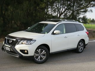 2019 Nissan Pathfinder R52 Series III MY19 ST-L X-tronic 4WD White 1 Speed Constant Variable Wagon