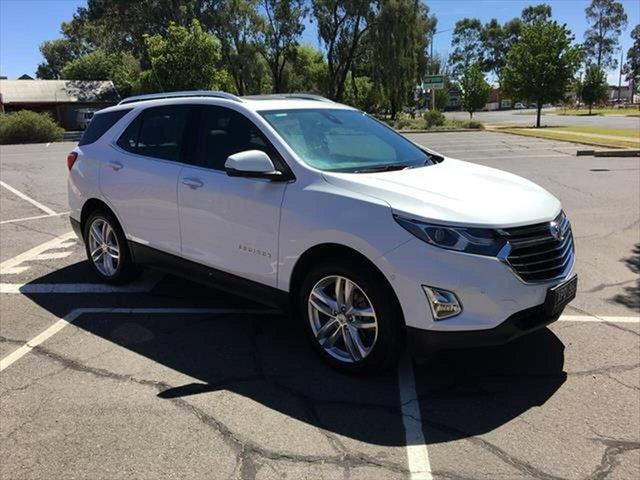 Used Holden Equinox EQ MY18 LTZ-V AWD Yarrawonga, 2018 Holden Equinox EQ MY18 LTZ-V AWD White 9 Speed Sports Automatic Wagon