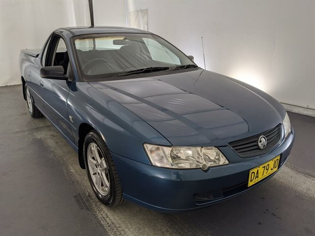 Used Holden Ute VY S Maryville, 2003 Holden Ute VY S Blue 4 Speed Automatic Utility